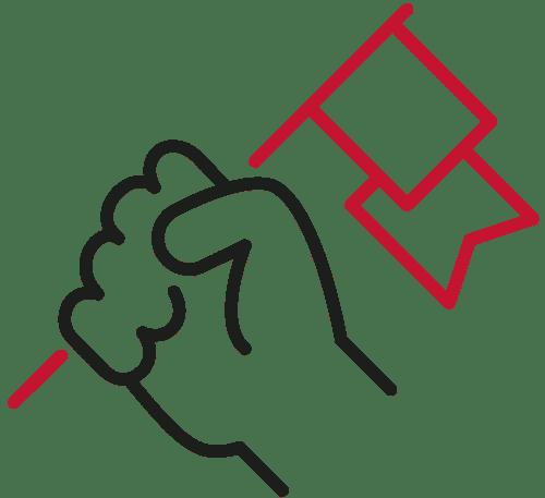 hand-flag-icon