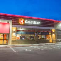 Gold Star franchise building